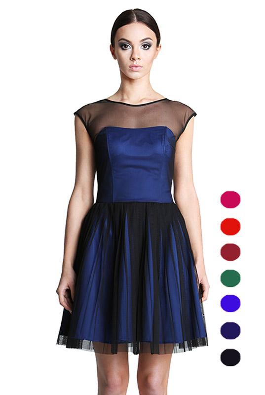 2d4008a3 Sukienki z Tiulem Szyte na Wymiar. Eleganckie, Długie Suknie Tiulowe ...