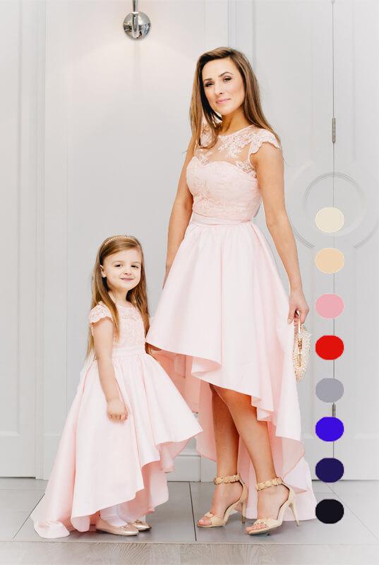 0ade630d77 Daise zestaw sukienek mama i córka - sukienka dla córki