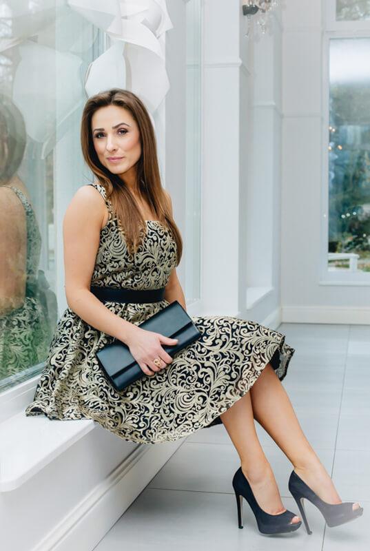 0666df8714 LaKey Hoppe koronkowa sukienka tiulowa. Sukienki - Sklep online z ...