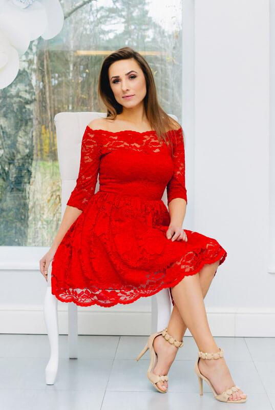5d1a93fe42 LaKey Cleo Sukienka koronkowa z dekoltem. Sukienki - Sklep online z ...