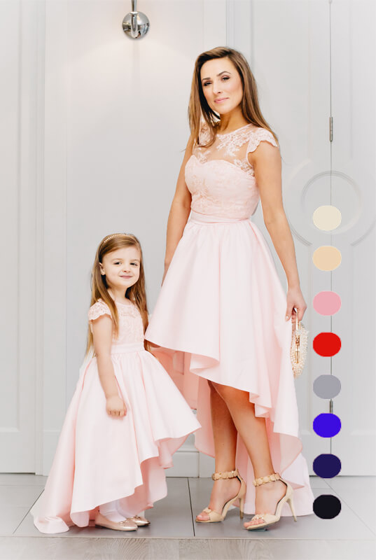 36099435e7 Daise zestaw sukienek mama i córka - sukienka dla córki. Mama i ...