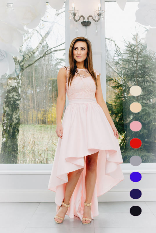 3026d8bb55 LaKey Daise asymetryczna sukienka na wesele. Sukienki Wieczorowe ...
