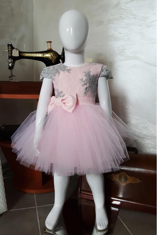 6358cb9812 LaKey Gabi koronkowa sukienka tiulowa dla dziewczynki. Dla dzieci ...