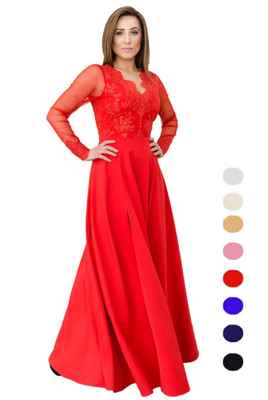 8cb8842dd5 LaKey Ivana długa suknia na wesele dla druhny. Sukienki Wieczorowe ...
