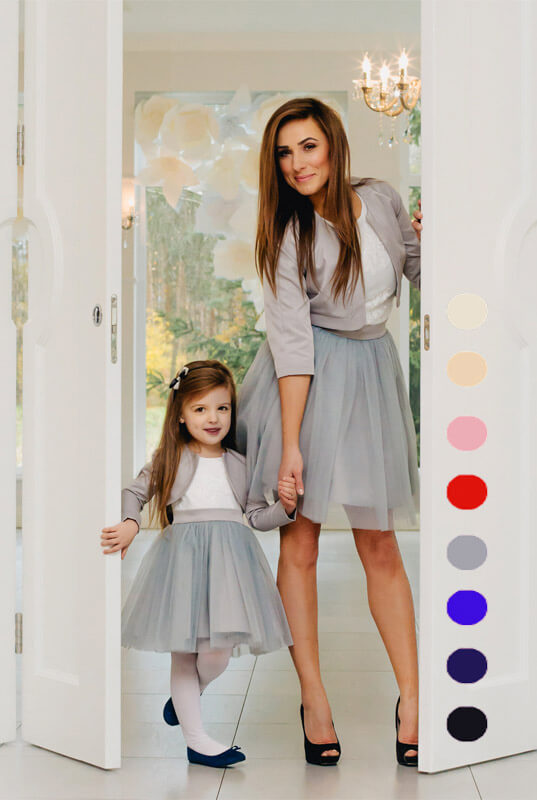 d0cf165c82 LaKey Megan zestaw sukienek mama i córka - sukienka dla mamy. Mama i ...