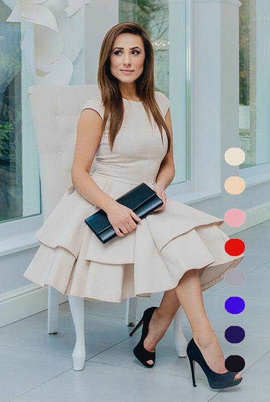 7387d44444 LaKey Mouse Sukienka rozkloszowana. Sukienki - Sklep online z ...