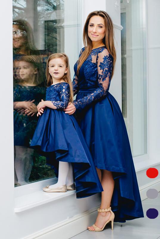 3129801d45c980 LaKey Dafne zestaw sukienek mama i córka - sukienka dla mamy. Mama i ...